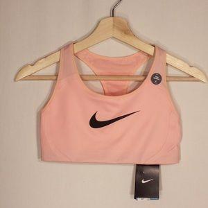 NWT Nike Victory High Impact Sports Bra Baby Pink